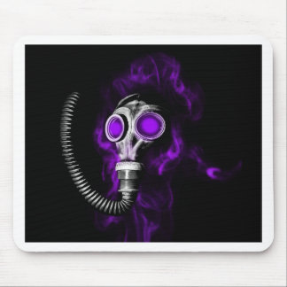 Gas mask mouse pad