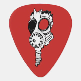Gas Mask Plectrum