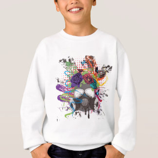Gas Mask with Roses 5 Sweatshirt