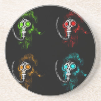 Gas masks coaster