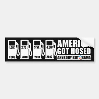 Gas Prices - Anybody but Obama Bumper Sticker