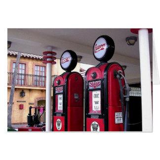 Gas Pumps Card