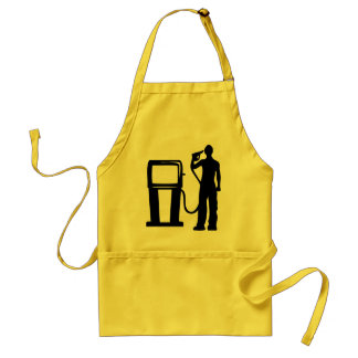 Gas Station Gun In The Head Standard Apron