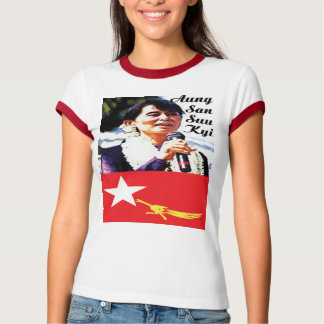 GAS T - Politics-Aung San Suu Kyi T-Shirt
