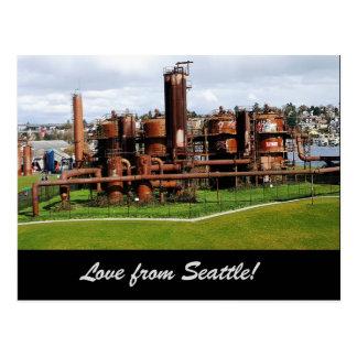 Gas Works Park Seattle Postcard