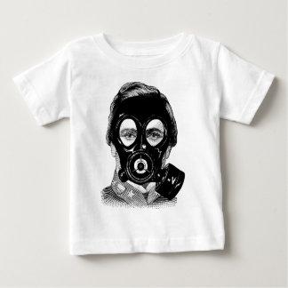 Gasmask Man Baby T-Shirt