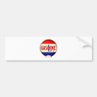 Gasoline Vintage Advertising Bumper Sticker