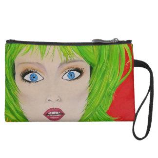 Gasp! Fine Art Print Make-up Bag Clutch