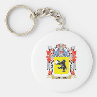 Gaspard Coat of Arms - Family Crest Key Ring
