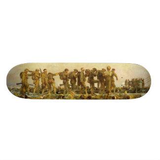 Gassed by John Singer Sargent World War I Skate Board Decks
