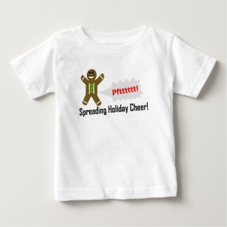 Gassy Baby Christmas Gingerbread man T-shirt
