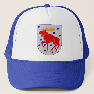Gästrikland Coat of Arms Scandinavian Trucker Hat
