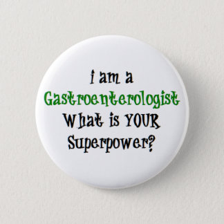 gastroenterologist 6 cm round badge
