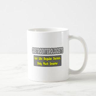 Gastroenterologists...Smarter Basic White Mug