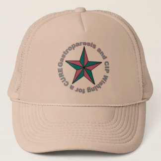 Gastroparesis and CIP Star Trucker Hat