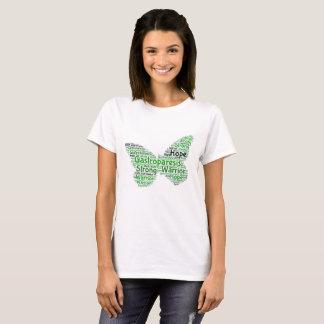 Gastroparesis Butterfly T-Shirt