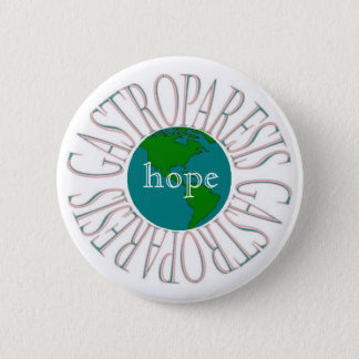 Gastroparesis Hope 6 Cm Round Badge