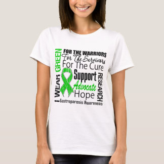 Gastroparesis I Wear Green Ribbon Tribute T-Shirt