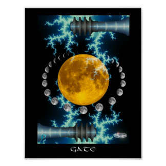 Gate (8.5 by 11) poster