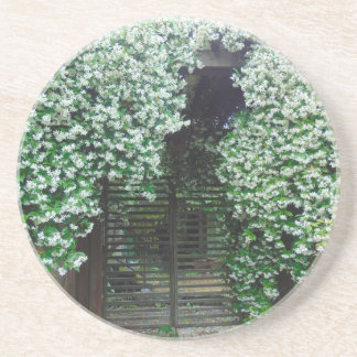 Gate Covered in Jasmine Coaster