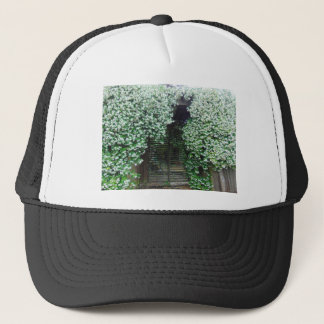 Gate Covered in Jasmine Trucker Hat