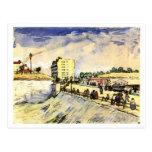 Gate in Paris Ramparts, Vincent van Gogh Postcard