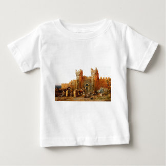 Gate of Shehal, Morocco by Edwin Lord Weeks Baby T-Shirt