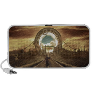 Gate to Another World Laptop Speaker