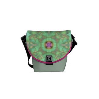 Gate to the Pasture Soft Abstract Courier Bag