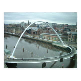 Gateshead Millennium Bridge Postcard