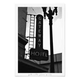 "Gateway Hotel | El Paso Architecture 13"" x 19"" Photo Print"