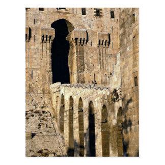 Gateway of the 12th century Qala (fortress), Alepp Postcard