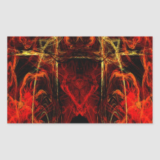 Gateway to Eternal Torture Rectangular Sticker