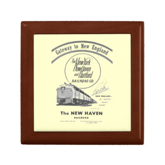 Gateway to New England,New Haven Railroad Gift Box