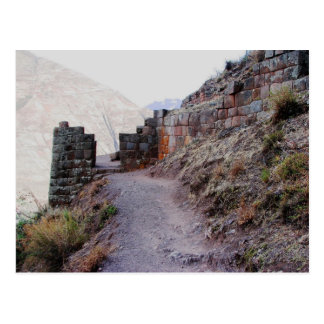 Gateway to Pisac Citadel, Peru Postcard