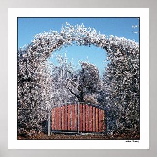 Gateway to Winter Wonderland Poster