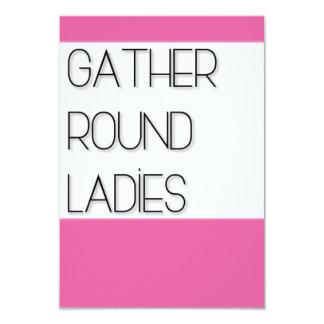 Gather Round Ladies Card