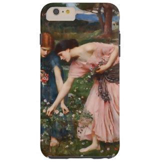 Gather Ye Rosebuds While Ye May Tough iPhone 6 Plus Case