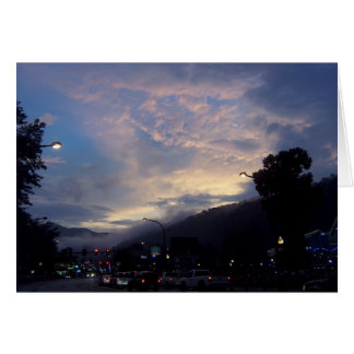 Gatlinburg Skies Card