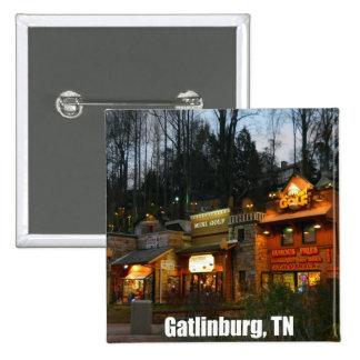 Gatlinburg, Tennessee 15 Cm Square Badge