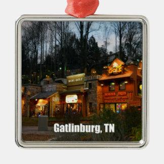 Gatlinburg, Tennessee Metal Ornament
