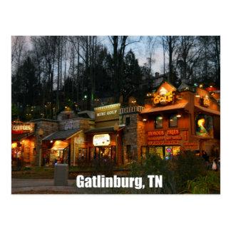 Gatlinburg, Tennessee Postcard