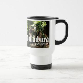 Gatlinburg, Tennessee - Village Square traveler Travel Mug