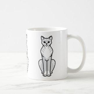 Gato Cat Cartoon Coffee Mugs