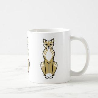 Gato Cat Cartoon Mugs