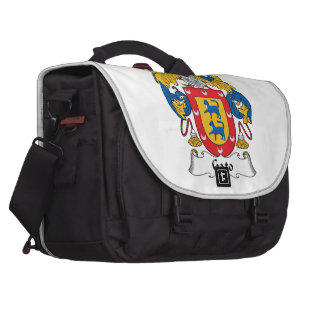 Gato Family Crest Laptop Bags