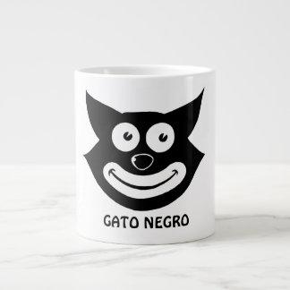 Gato Negro 20 Oz Large Ceramic Coffee Mug