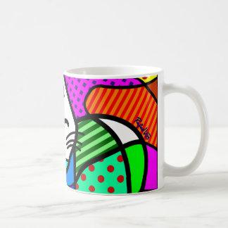Gato Pop Basic White Mug