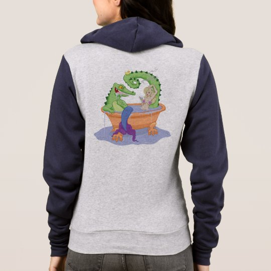 Gator and Mermaid Hoodie