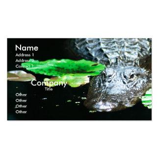 Gator Business Card Templates